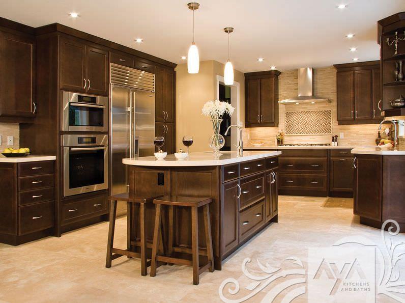 cocinas de madera con isla - Buscar con Google | Casas | Pinterest ...