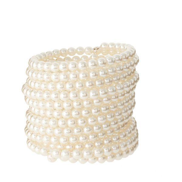 Pearls Slinky Bracelet