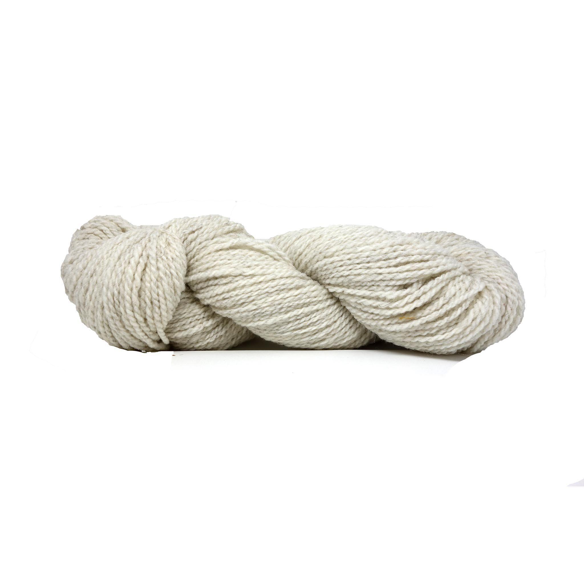 Suffolk Wool Weaving Yarn Cream