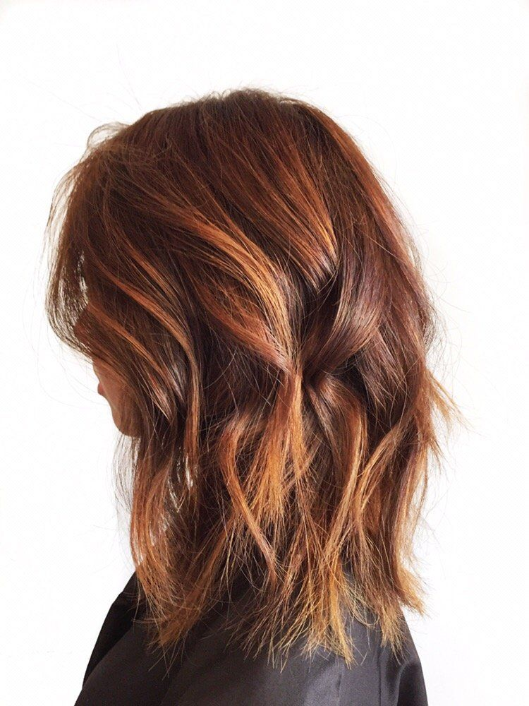 Auburn Hair With Blonde Balayage Google Search Hair Pinterest