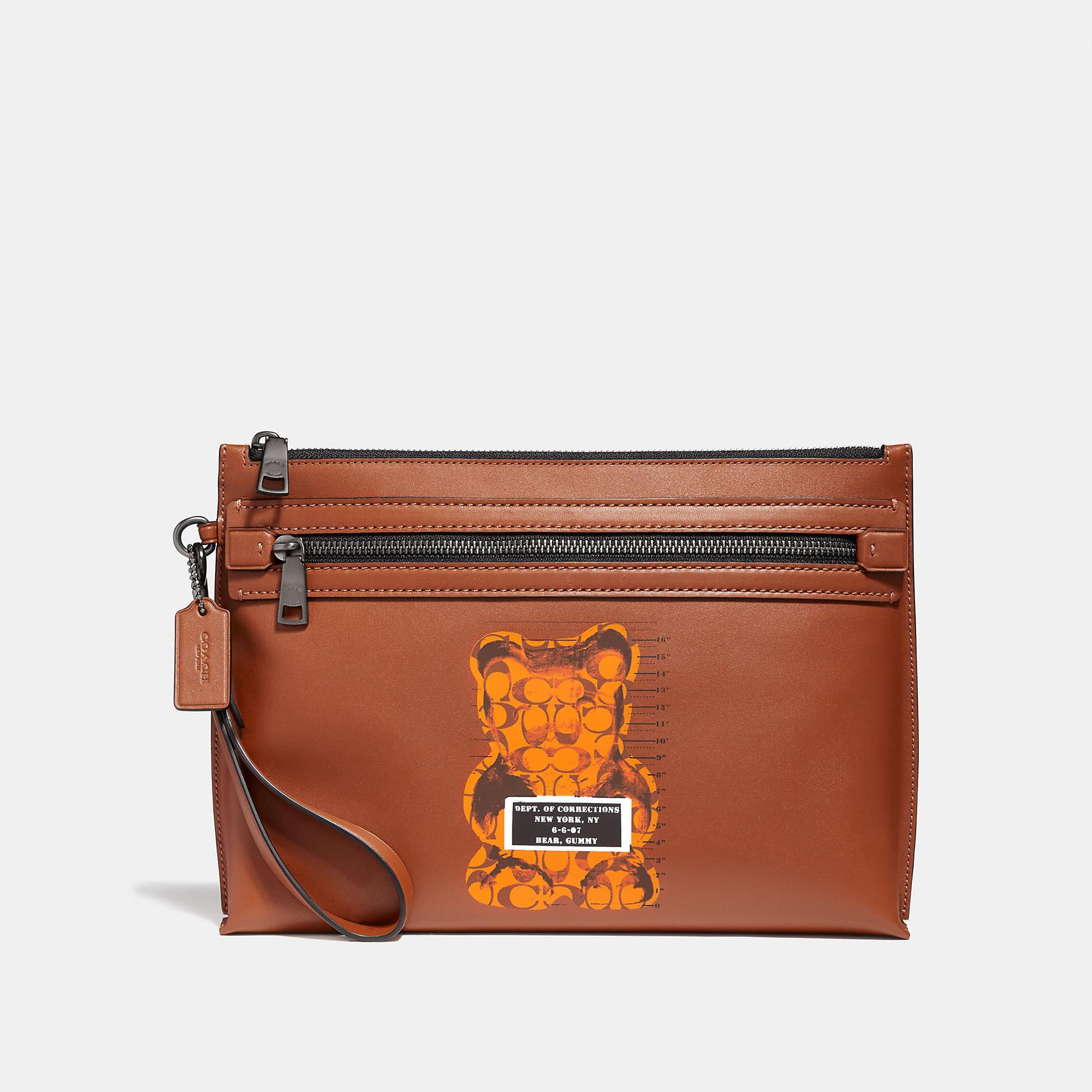 83965b804d Academy pouch | Products | Coach men, Bags, Designer handbags
