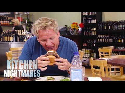 Gordon Canu0027t Get U0027Cowboyu0027 Burger In His Mouth   Kitchen Nightmares
