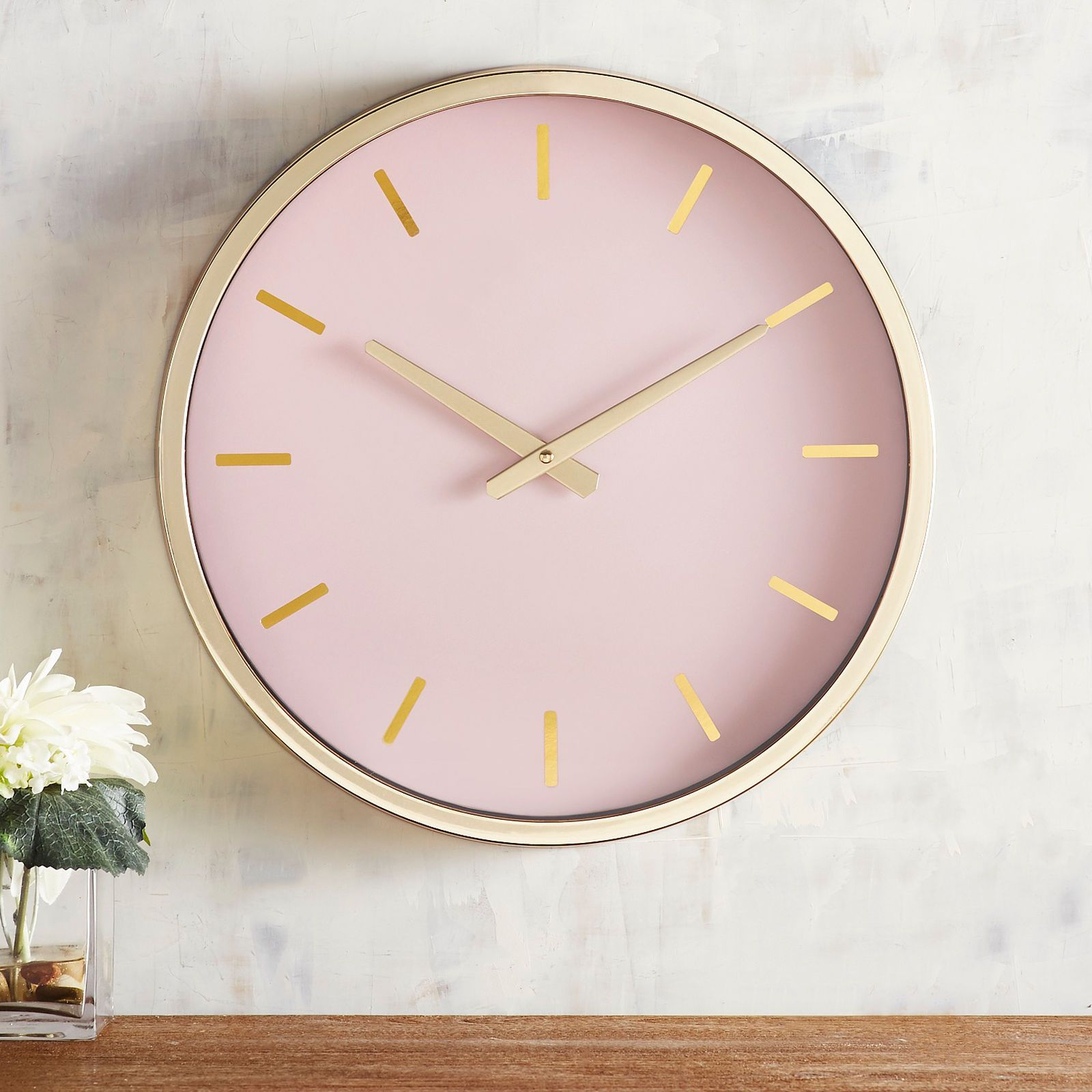 Our Understatedly Elegant Wall Clock Is A Timepiece For Grown Ups
