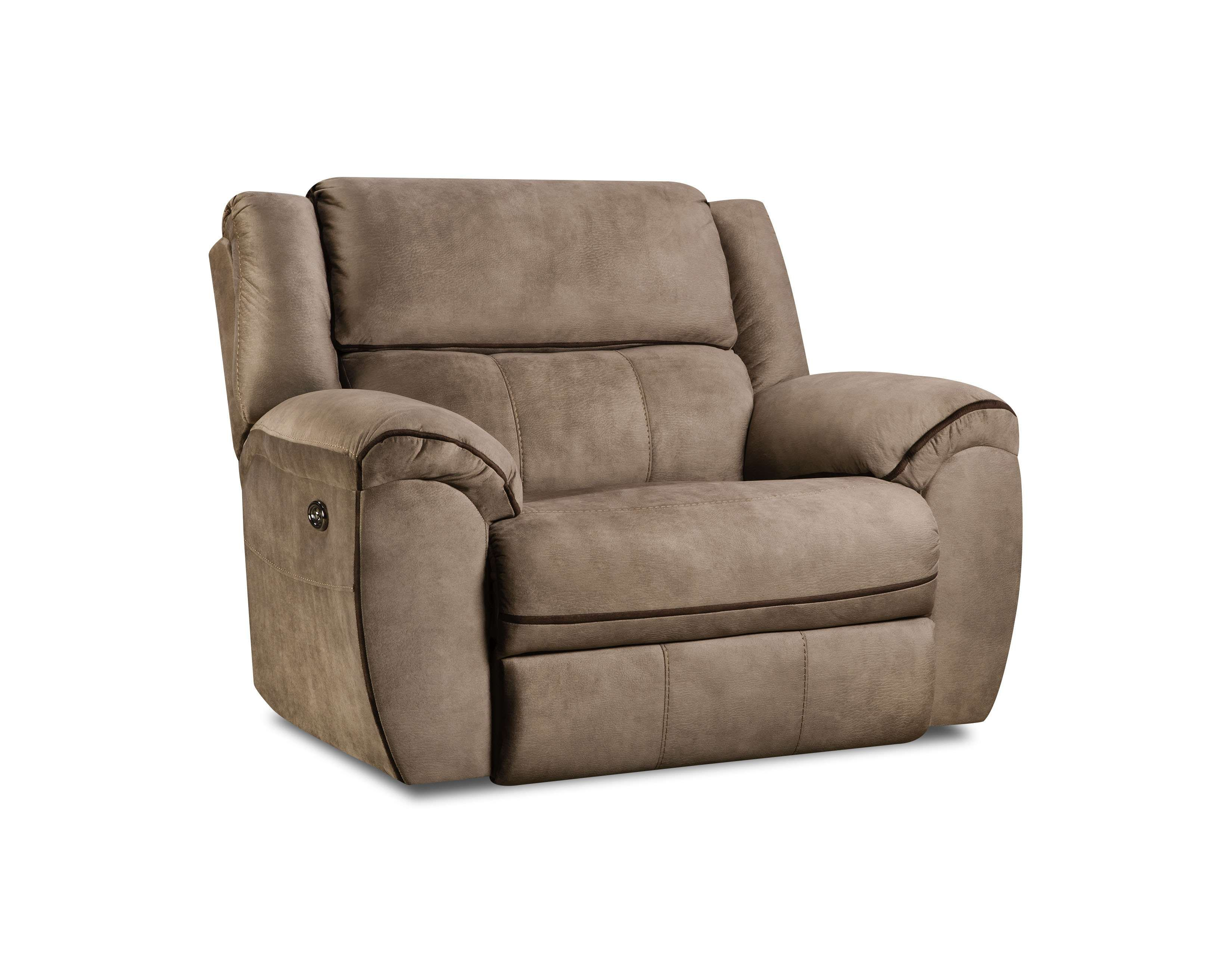 Simmons Upholstery Osborn Tan Cuddler Recliner Reviews