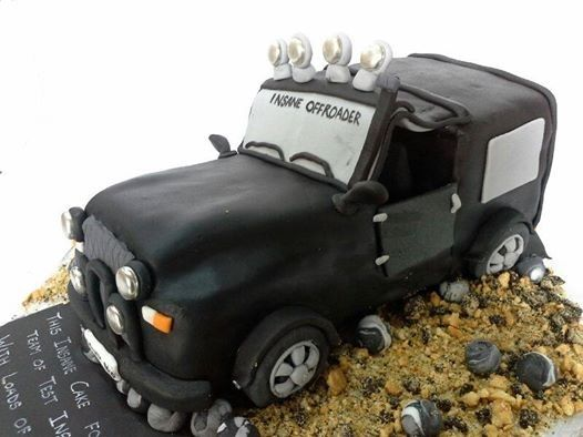Pin by Miras Dial A Cake on Cars Jeep theme Cakes Pinterest