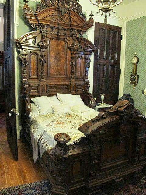 Stunning Gothic Victorian Bed Frame Victorian Bedroom Victorian Furniture Bed Furniture