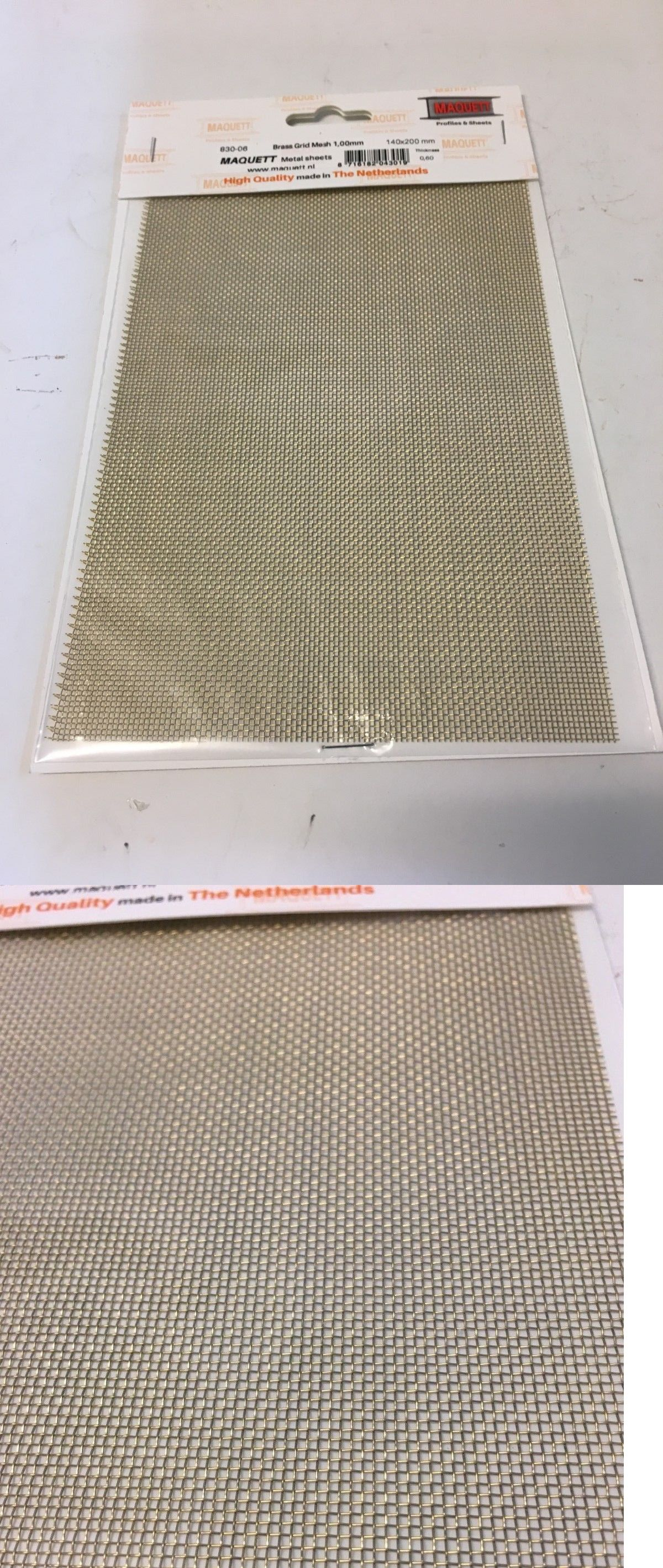 Maquett Metal Sheets Hobby Brass Grid Mesh 1 00 Mm Square Hole 5 5 X 8 Screen Ac Fan Motor Brass Air Conditioner Capacitor