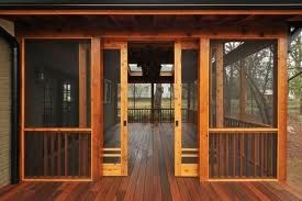 Craftsman Style Screened Porch