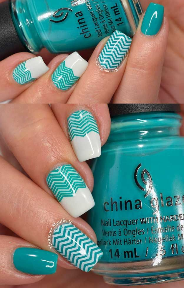 75 Most Creative Nail Art Ideas We Could Find | Pinterest | Chevron ...