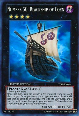 Yu Gi Oh Number 50 Blackship Of Corn 2013 Collectors Tins Yugioh Number 50 Yugioh Cards