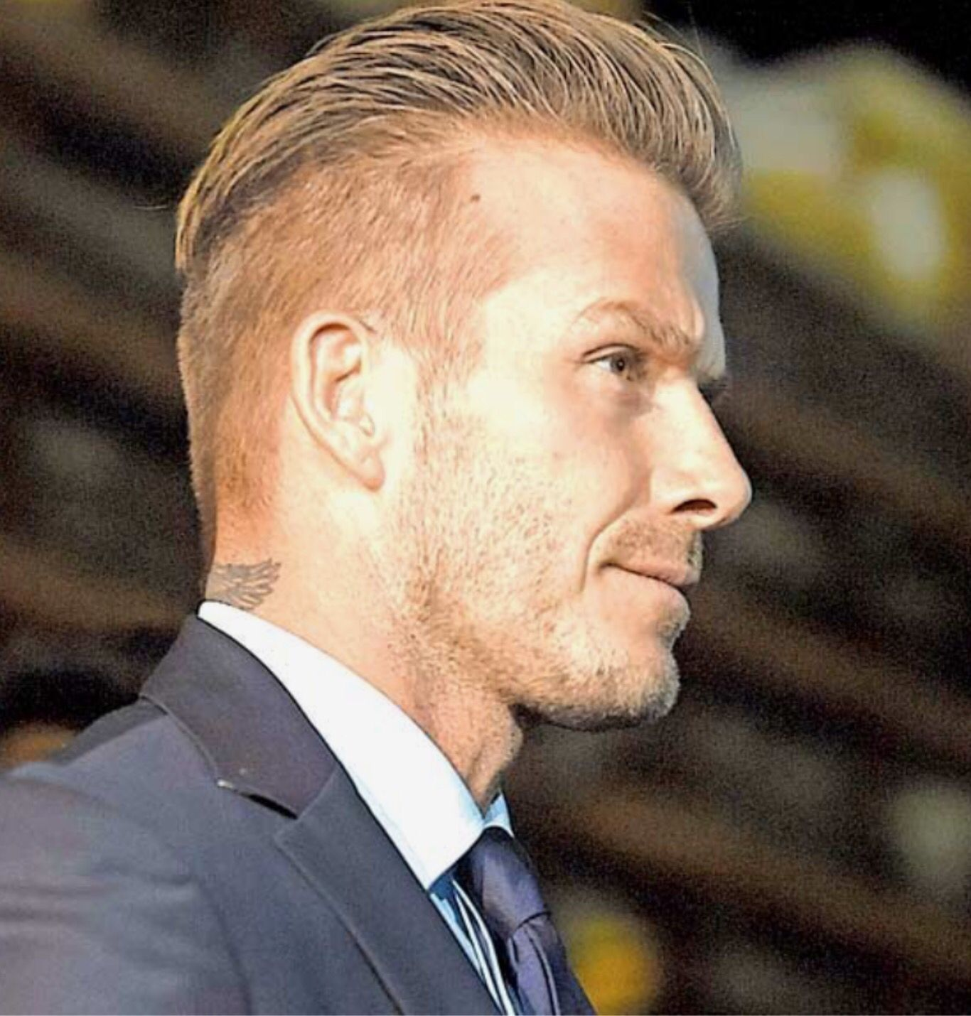 ever changing hair styles by david beckham | mens style