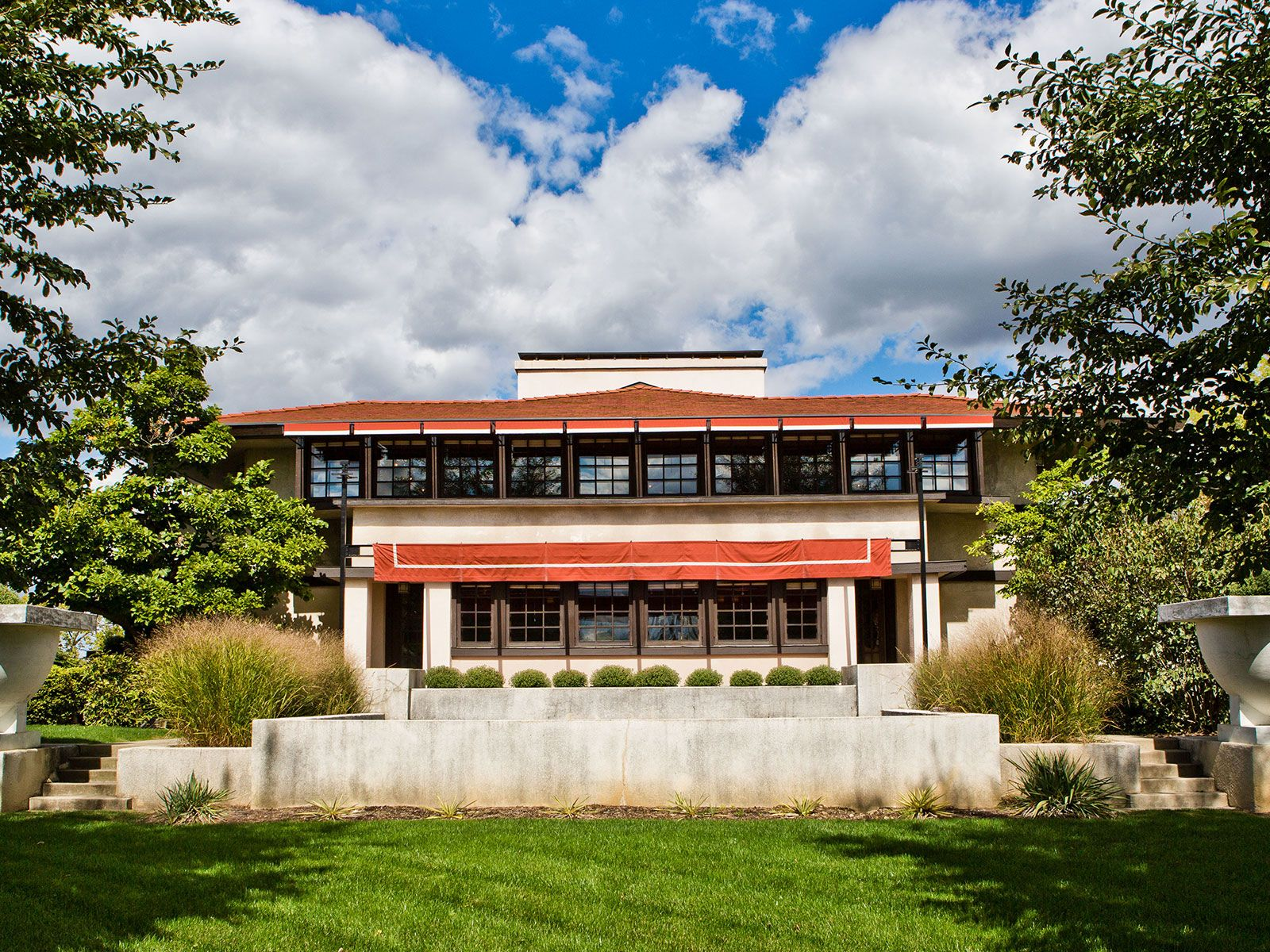 The Westcott House Flw Ohio Ohio 2018 Frank Lloyd Wright