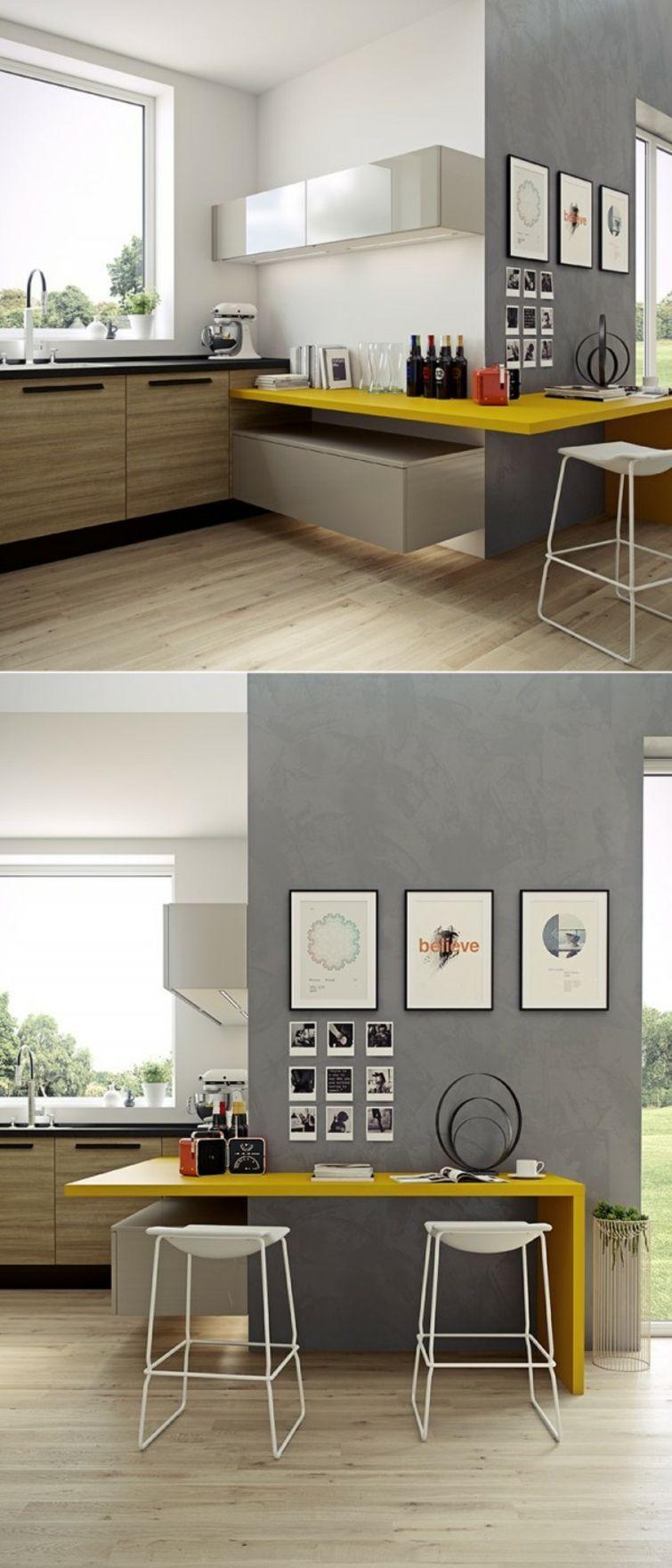 cuisine petite surface: idées pour un design moderne | amenagement