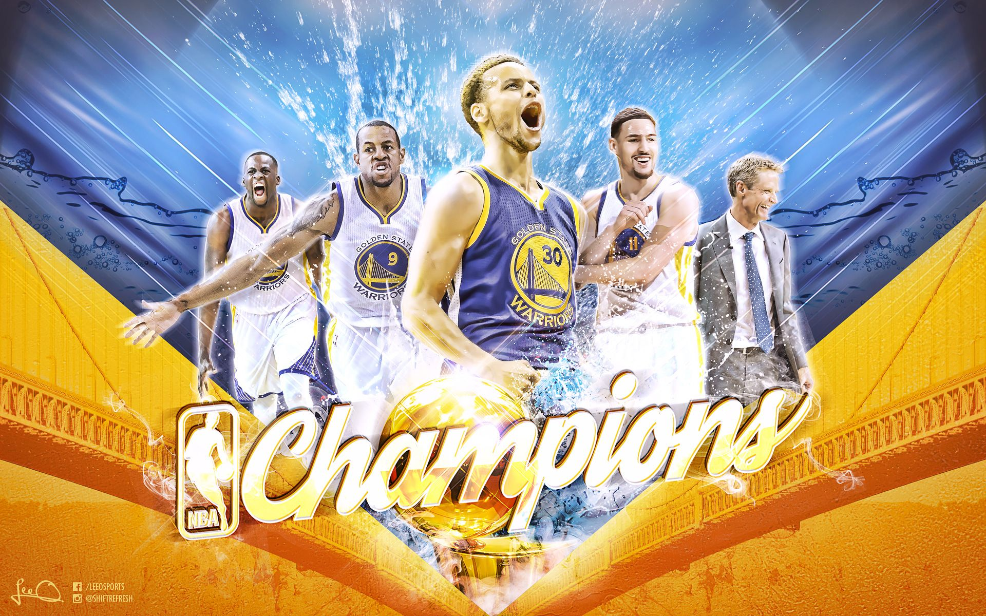 39bef890c14 Golden State Warriors Nba Champions Wallpaper - Best Wallpaper HD