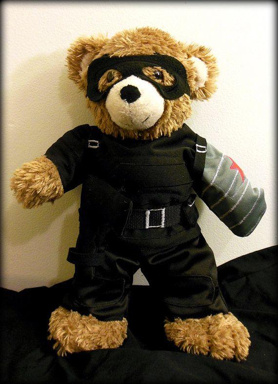 Tony's Bucky Bear