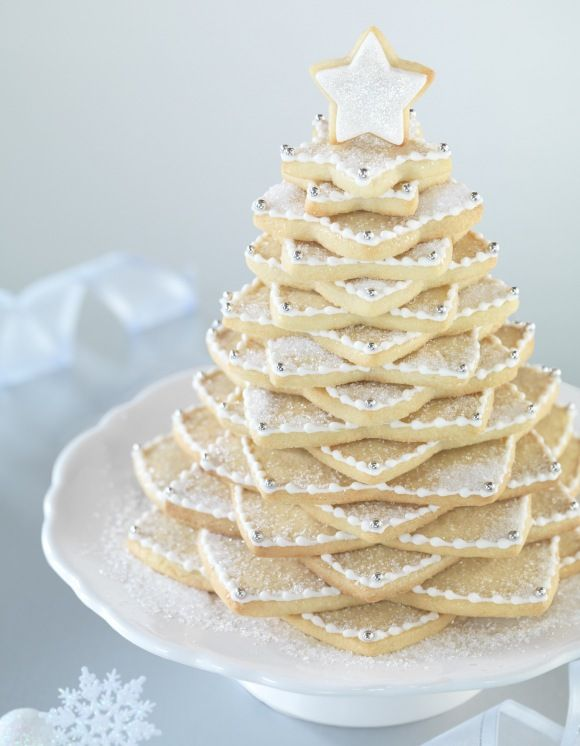 Star Cookie Tree Awesome Centerpiece Dessert Cookies