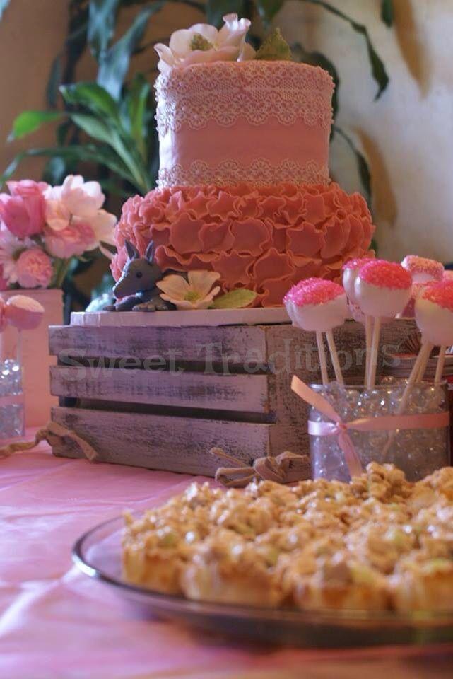 43c6e331 Blush and Bashful Steel Magnolias themed bridal shower | Sweet ...