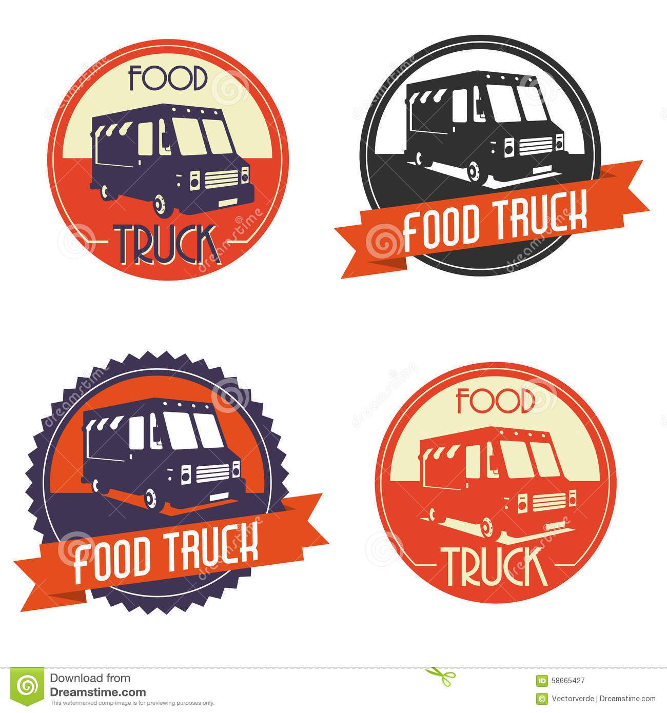 The rocket pizza food truck grits grids - Logo Food Truck
