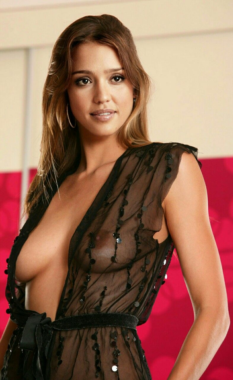 Sexy boobs Jessica nude alba