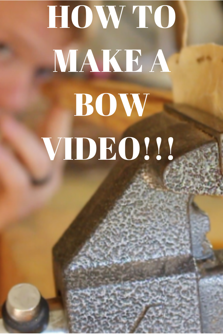 how to make your own bow for archery it s fun a simple join the