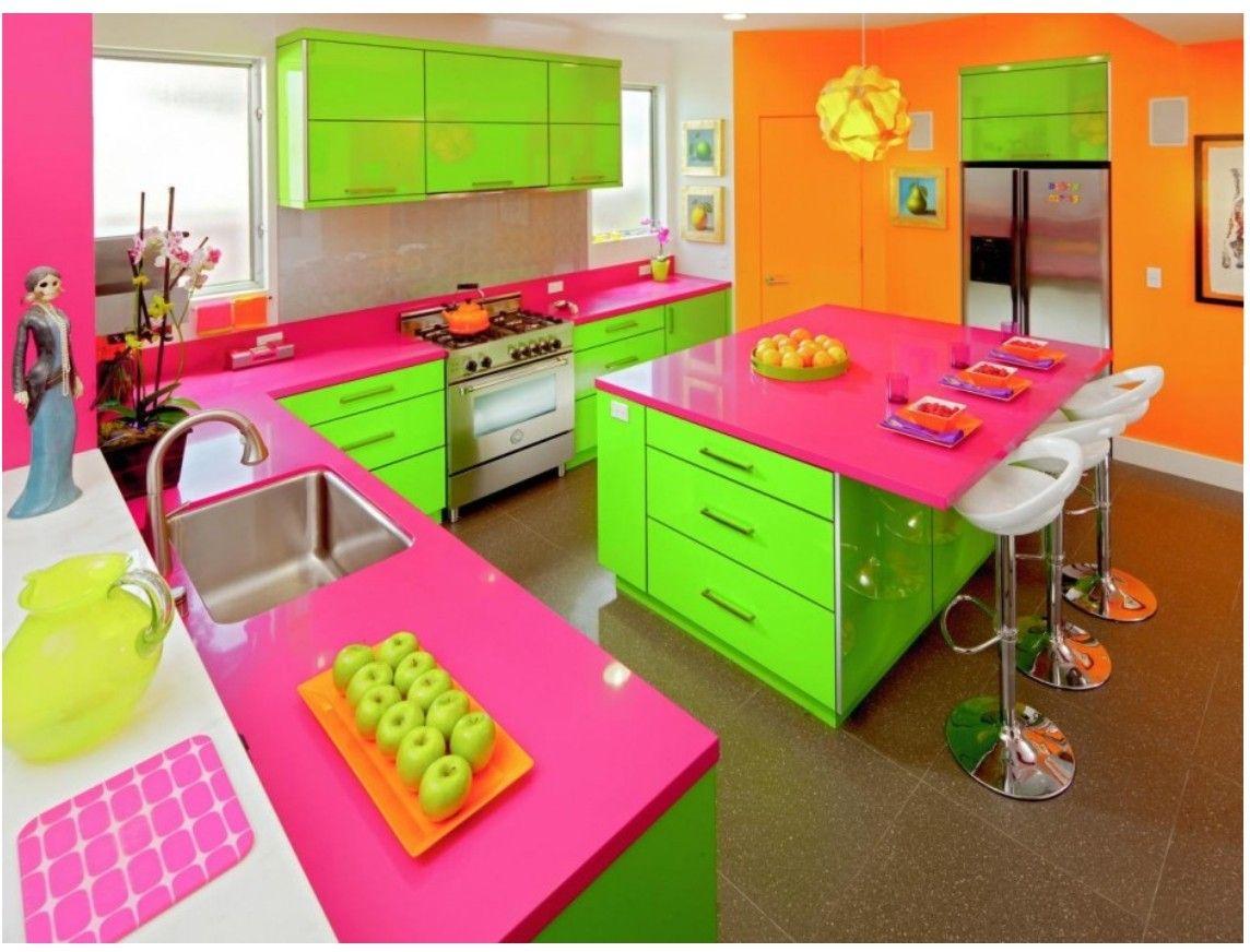 Awesome Neon Kitchen Kitchen Colors Kitchen Design Color Farmhouse Kitchen Colors
