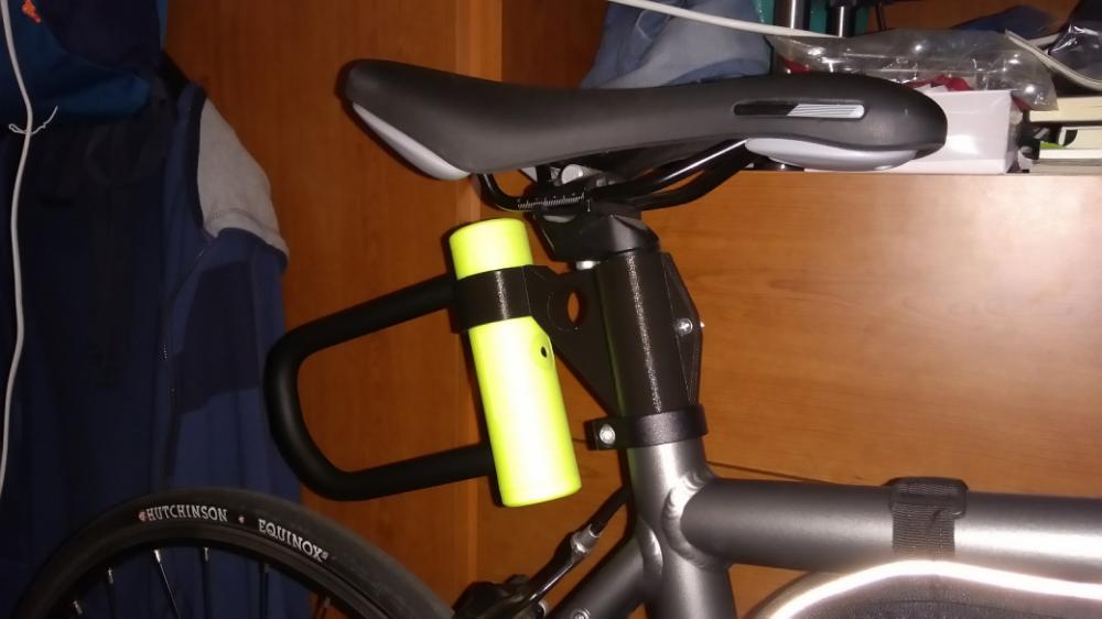 Holdit Bike U Lock Holder Triathlon Bike
