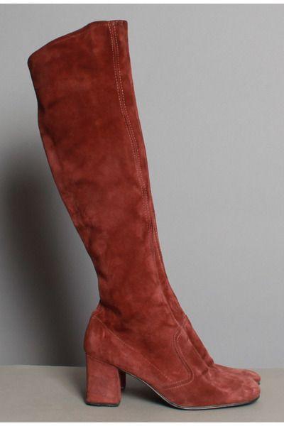 Vintage+70s+OTK+Boots   Stiefel, Schuhe, Kleidung