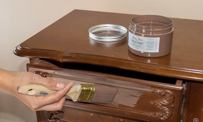 Streichen Ohne Schleifen Kreidefarbe Von Annie Sloan Ausprobiert In 2020 Kreidefarbe Kreide Annie Sloan