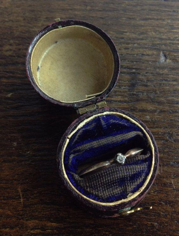 Antique Georgian Ring Box - Jewelry Case on Etsy, £168.58 ...