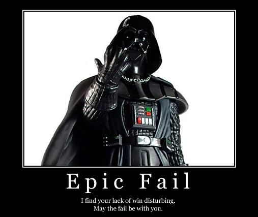 Image result for star wars fails