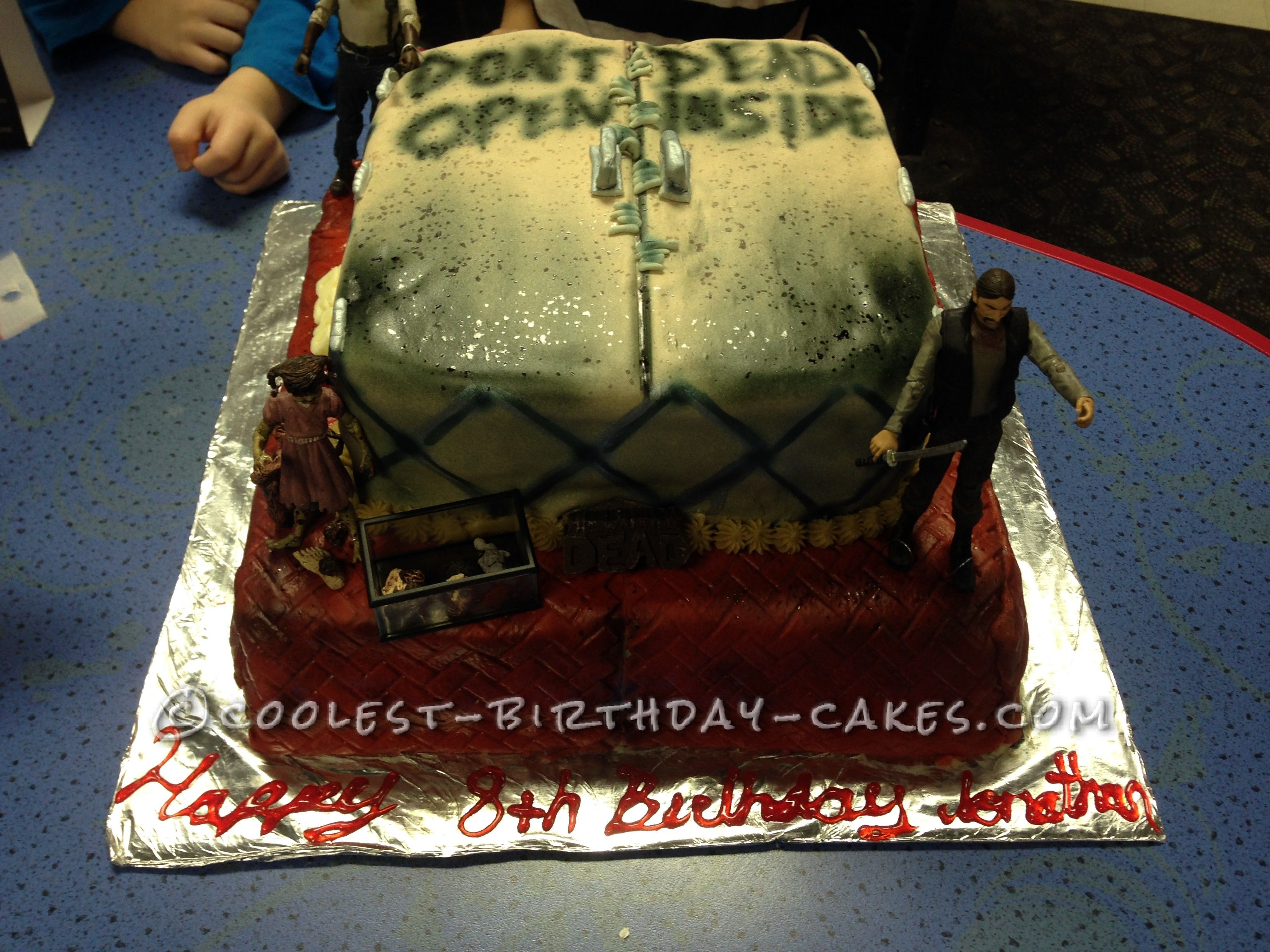 Unique Walking Dead Cake For  Year Old Boy Best Birthday Cakes - Birthday cake 8 year old