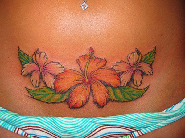 Hawaiian Flower Tattooput On My Lower Back Tattoos Hibiscus