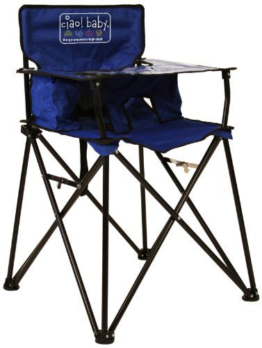 Ciao Baby Portable Highchair Blue Ciao Baby Http Www Amazon Com Dp B00emswbl2 Ref Cm Sw R Pi Dp 9f Qub1899 Baby High Chair Portable High Chairs High Chair