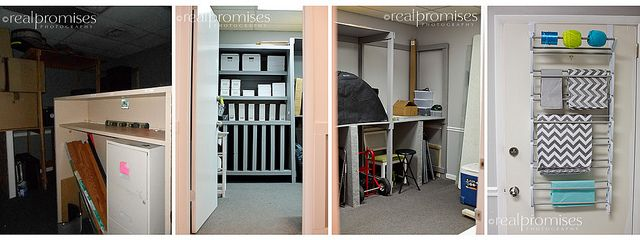 photography studio packaging storage room Before & After  Summer- Real Promises Photography