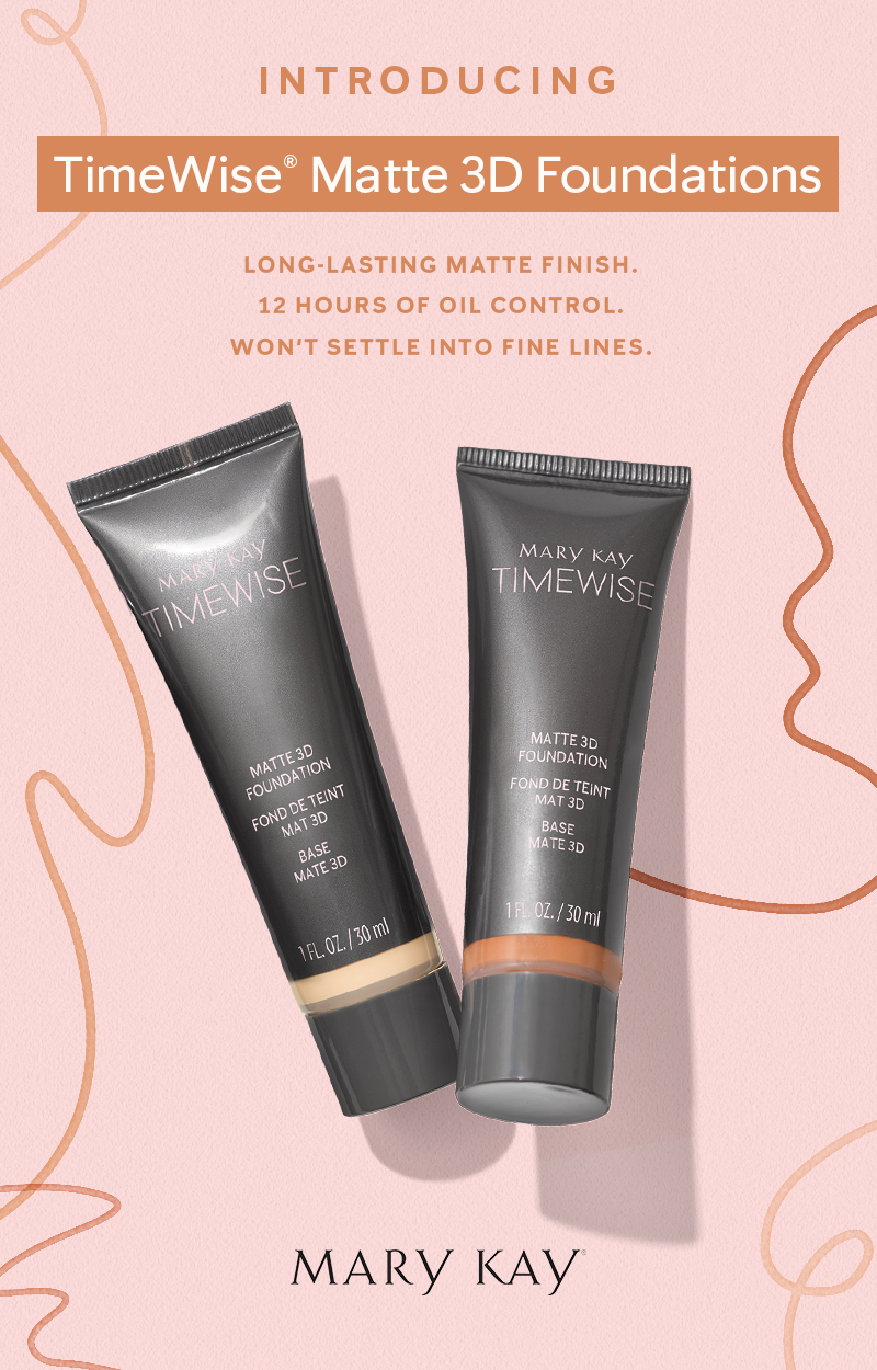 Our New True To You Shades Timewise 3d Foundation Infuses Skin With Age Defying Ingredients For A Flawless I Mary Kay Foundation Mary Kay Cosmetics Mary Kay