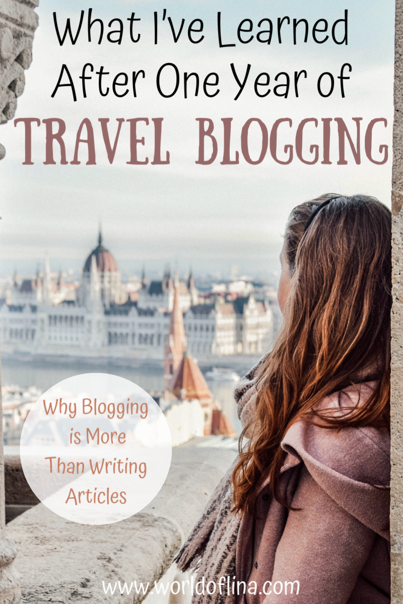 Exactly one year ago I started my journey as a travel blogger. So much happened since then and I decided to write down everything I've learned after one year of travel blogging. #travelblogger #travelblogging #travelbloggerlife