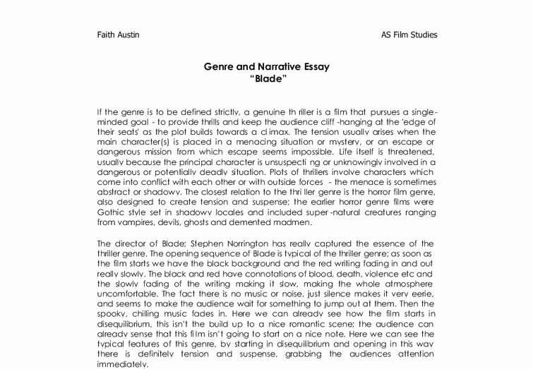 Sample Of Narrative Essay Lovely 51 Personal Narrative Essay Examples High School Essay In 2020 Narrative Essay Essay Examples Essay