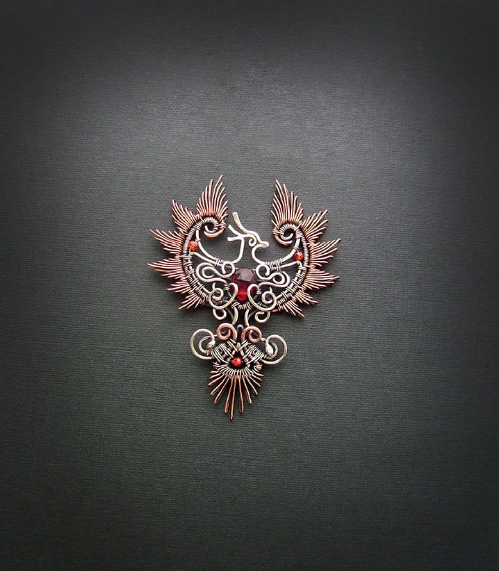 SelfTaught Russian Artist Makes Amazing Wire Wrap Jewelry   Wire ...