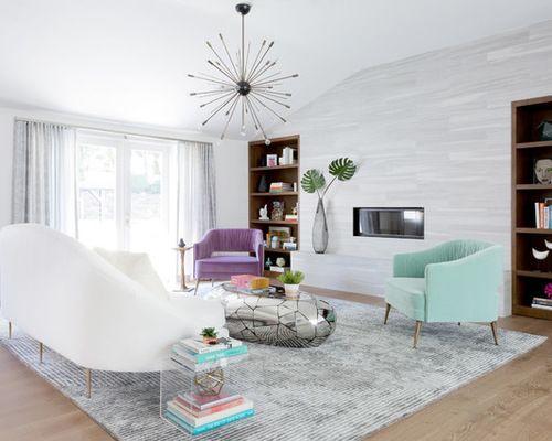 Best Midcentury Living Room Design Ideas  Remodel Pictures Houzz