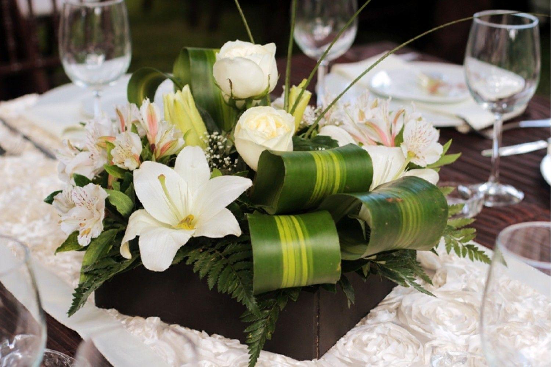 Moderno Y Elegante Precioso Arreglos Pinterest Elegante  ~ Centros De Flores Naturales Para Mesas