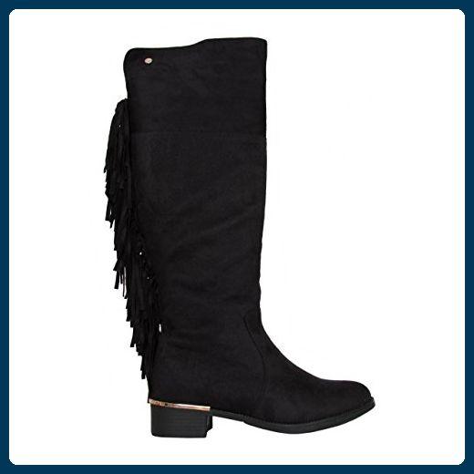Boots für Damen XTI 28833 ANTELINA NEGRO Schuhgröße 38 - Stiefel für frauen  (*Partner