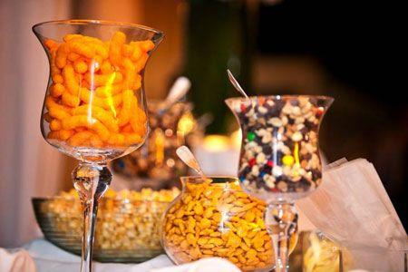Salty And Sweet Gourmet Snack Bars Wedding Snack Bar Wedding
