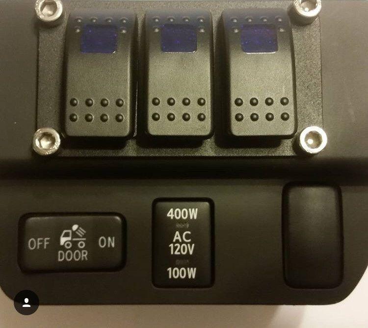 2016 2017 3rd gen toyota tacoma rocker switch panel - 2013 toyota tacoma interior accessories ...
