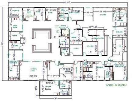 Floor Plans: 2D & 3D | Hospitals in 2019 | Hospital design, Floor