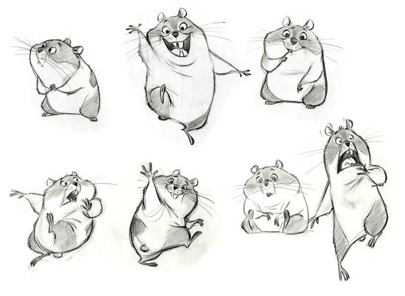 Art Of Animal Character Design Pdf : Rhino concept art character design and bolt characters