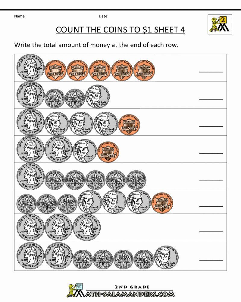 Free Printable 3rd Grade Math Money Worksheets Money Worksheets Counting Money Worksheets Printable Math Worksheets