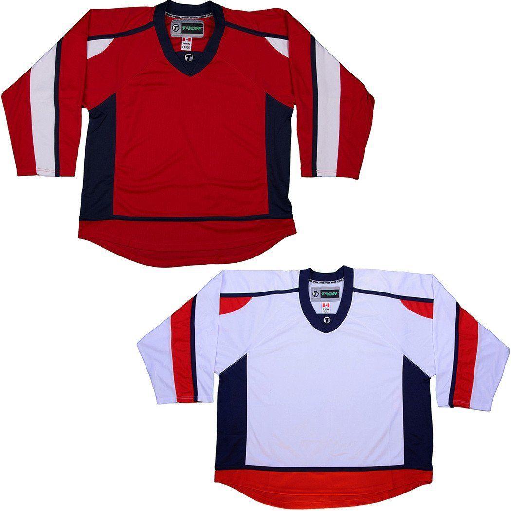 a806771027b Tron DJ300 Hockey Jersey - Washington Capitals