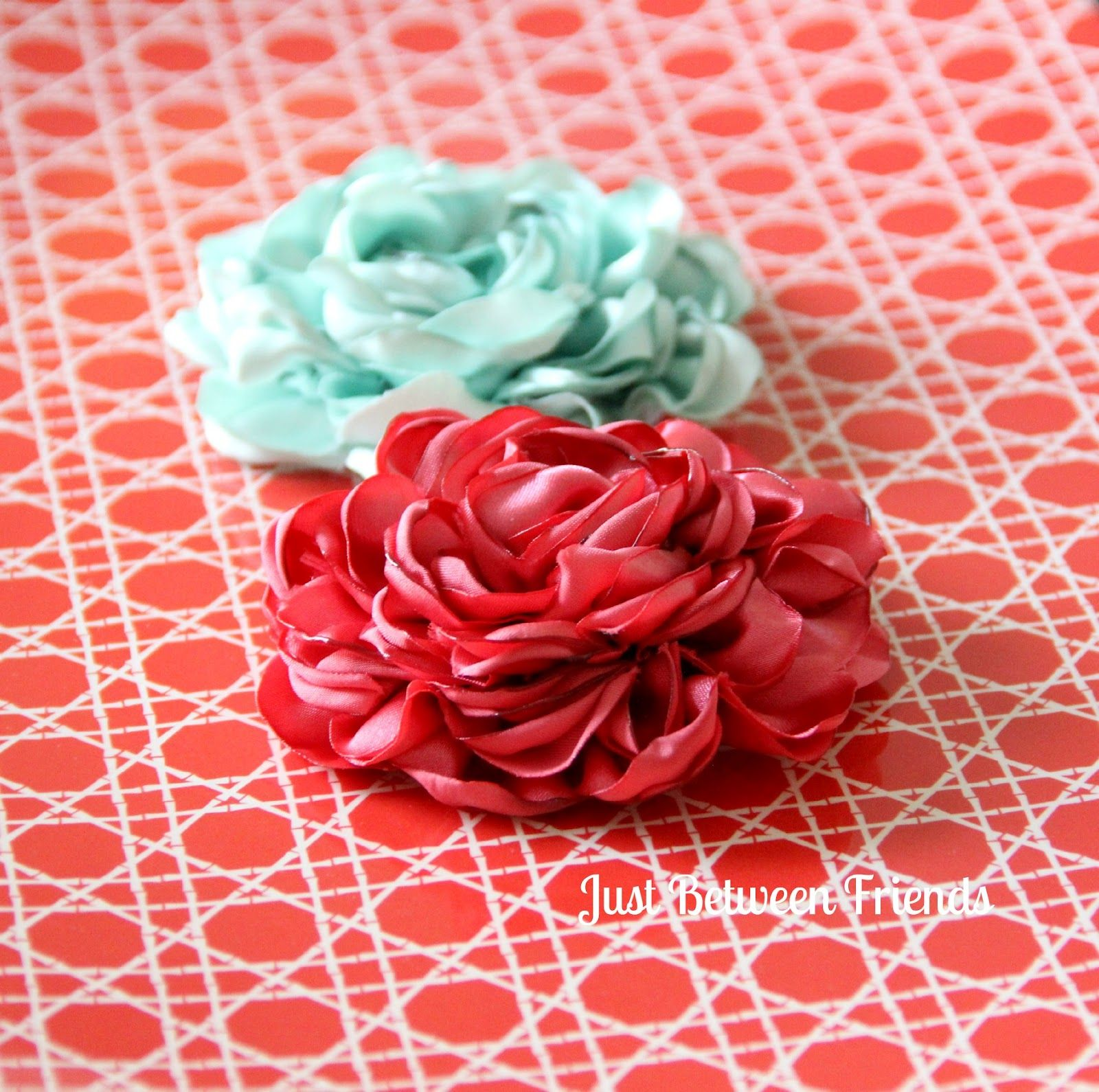 Fancy Flowers Tutorial  Products I Love  Pinterest  Flower