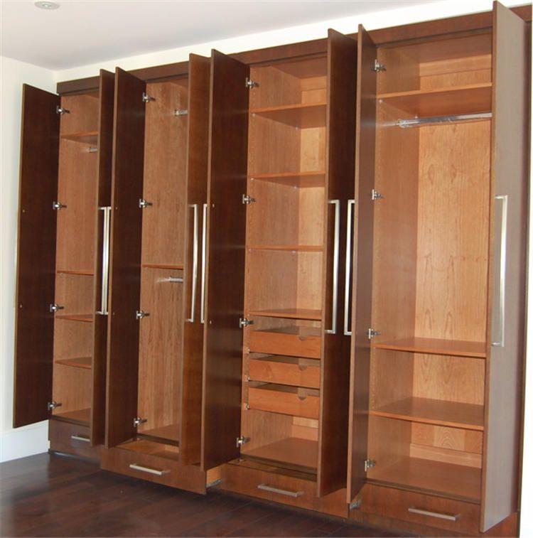 Stilvolle Schlafzimmer Möbel Kleiderschrank Einen