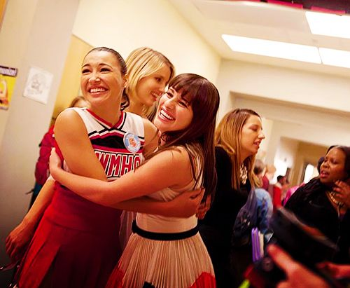 Just a little Pezberry flashback from 'I kissed a girl' in season 3